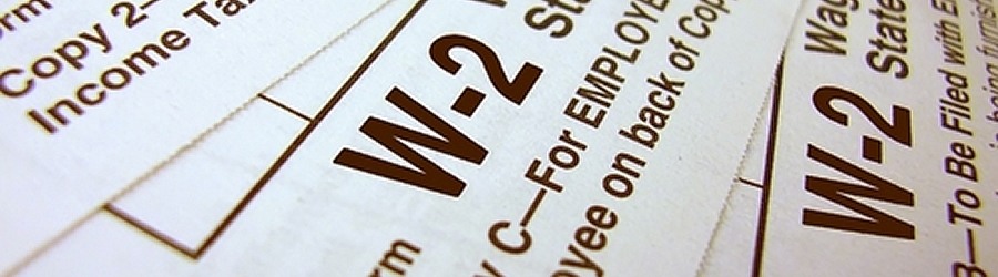 Payroll Banner represents a W-2 form