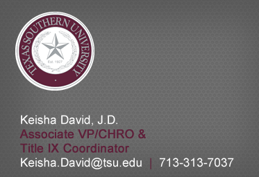 Click here to Email Keisha David