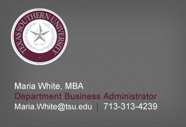 Click here to Email Maria White